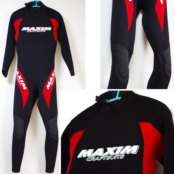 MAXIM 中古ウェットスーツ 3/2mm フルスーツ bno9629790a