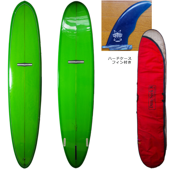 YU SURF CLASSIC 中古ロングボード 9`6 deck/bottom bno9629791a