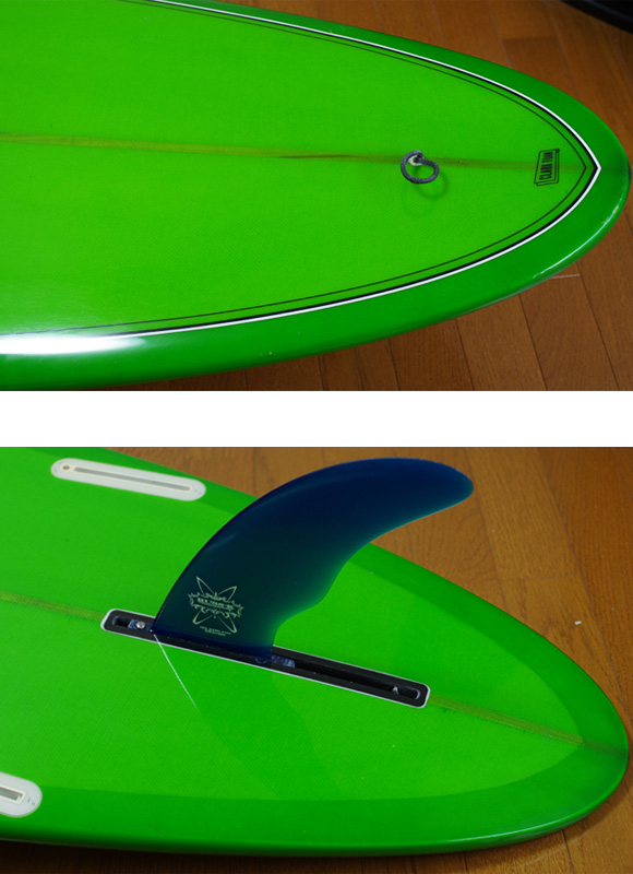 YU SURF CLASSIC 中古ロングボード 9`6 fin/tail bno9629791d