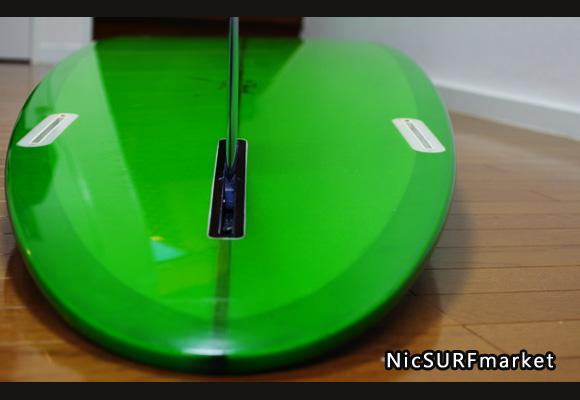 YU SURF CLASSIC 中古ロングボード 9`6 bottom-design bno9629791im2
