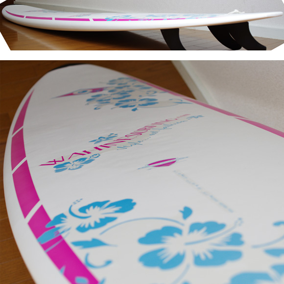 BIC SURF Mini Malibu 中古ファンボード 7`3 deck-condition bno9629792c