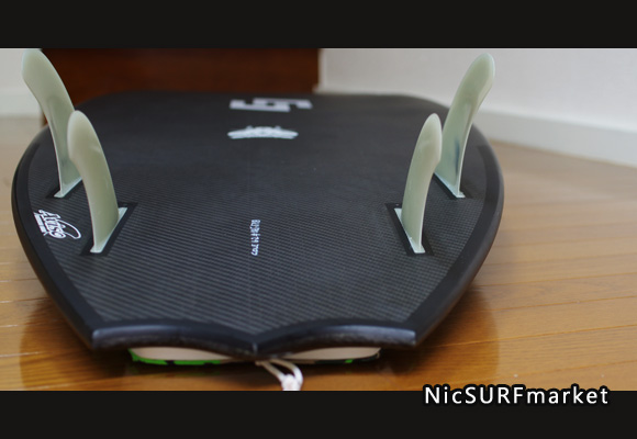 AVISO COLE FIREFLY 中古ショートボード 6`2 bottom-design bno9629794im2