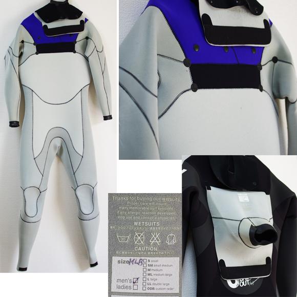BREAKER OUT 中古ウェットスーツ 5/3mm フルスーツ condition bno9629800c
