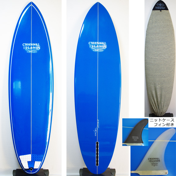 Channel Islands MSF 中古 シングルフィン 6`1 deck/bottom bno9629801a