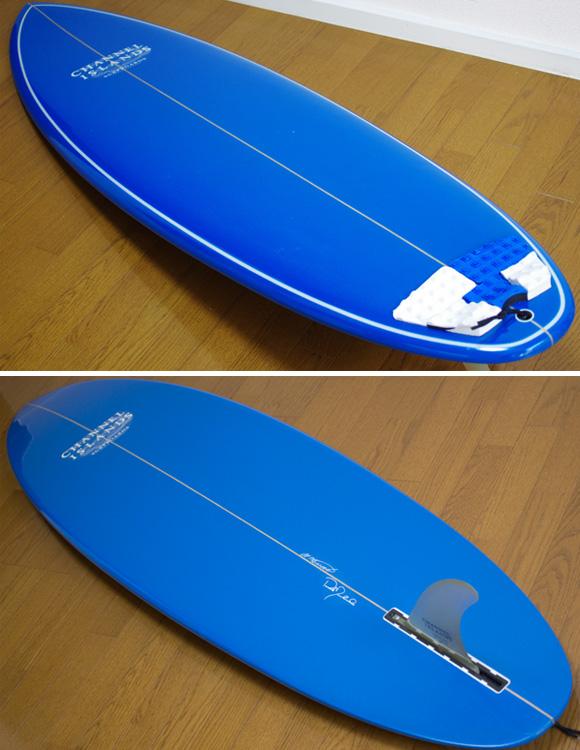 Channel Islands MSF 中古 シングルフィン 6`1 deck/bottom-detail bno9629801b
