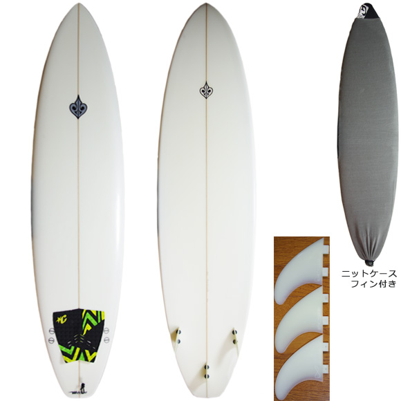 Wedge 中古ファンボード 7`4 deck/bottom bno9629804a