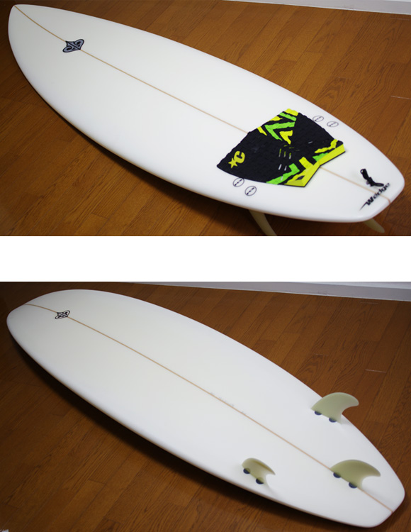 Wedge 中古ファンボード 7`4 deck/bottom-detail bno9629804b