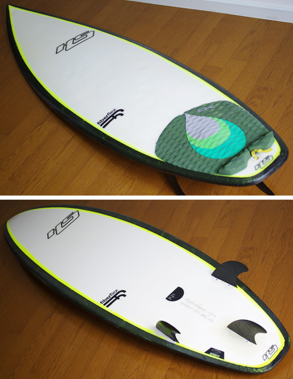 HAYDEN SHAPES JQS 中古ショートボード 5`11 deck/bottom-detail bno9629805b