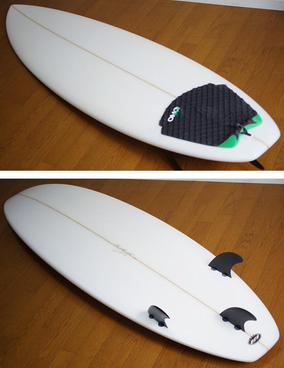 初心者向け 中古ファンボード 6`4 deck/bottom-detail bno9629806b