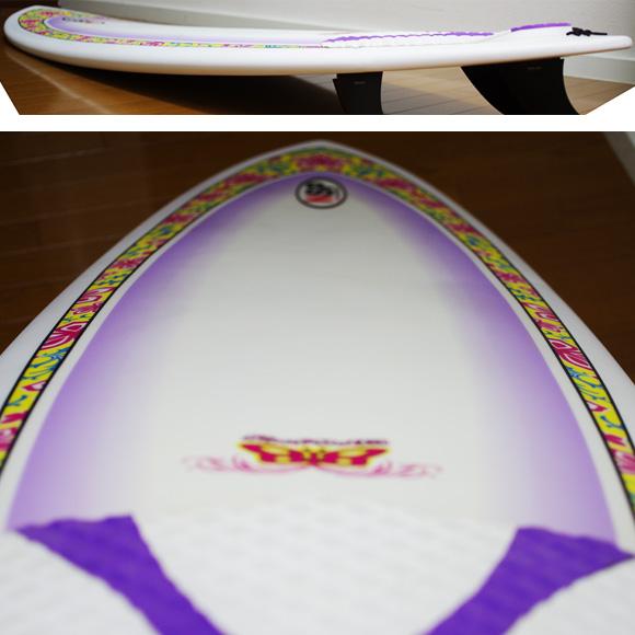 NSP Surfbetty 中古ファンボード6`8 deck-condition bno9629809c