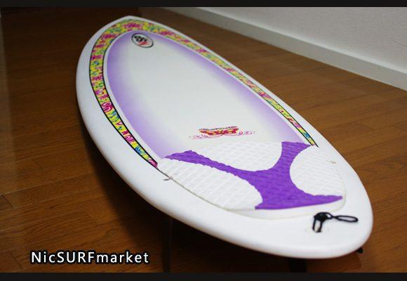 NSP Surfbetty 中古ファンボード6`8 bno9629809im1