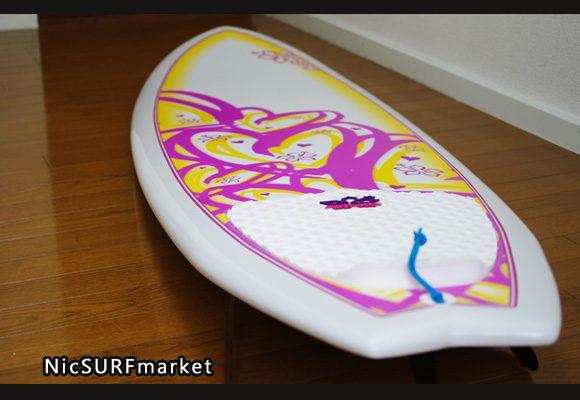 NSP Surfbetty FISH 中古ファンボード 6`4f EPOXY bno9629824im1