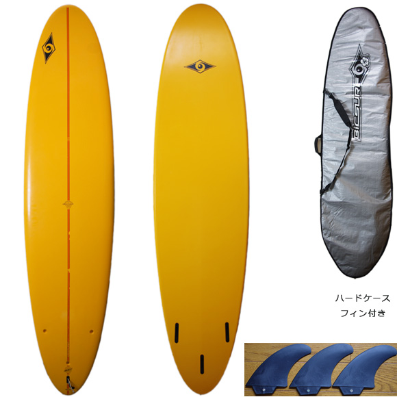 BIC SURF 中古ファンボード7`6 EPOXY deck/bottom bno9629829a