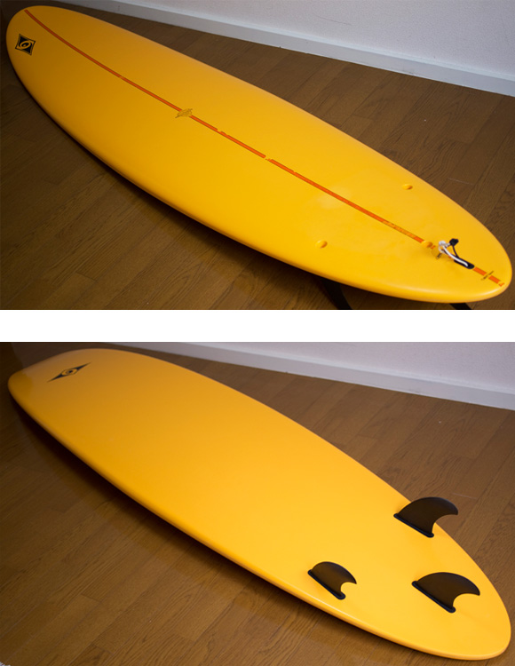 BIC SURF 中古ファンボード7`6 EPOXY deck/bottom-detail bno9629829b
