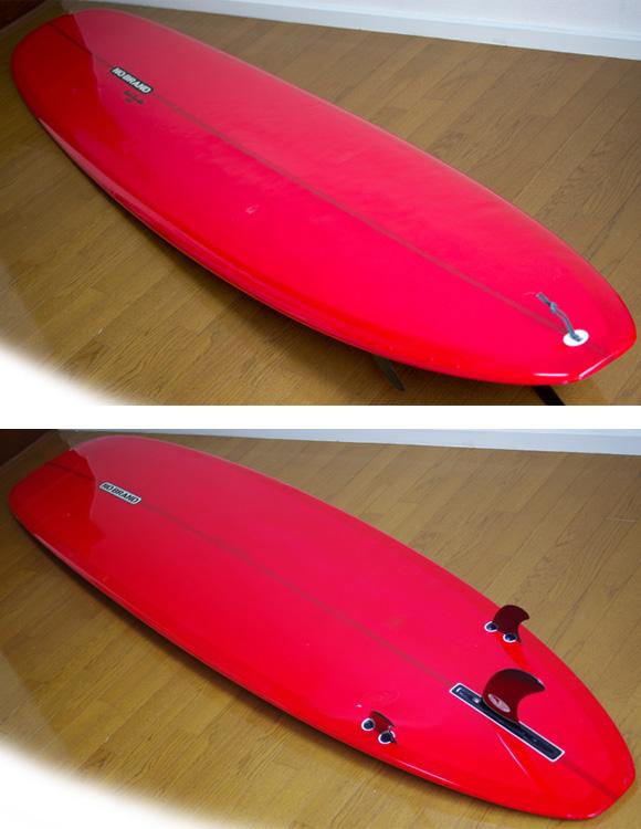 NO BRAND 中古ロングボード DKⅢ 9`5 deck/bottom-detail bno9629834b