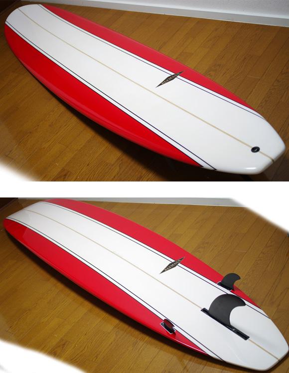 KLYMAXX 中古ロングボード CLASSIC LINE 9`0 deck/bottom-detail bno9629835b