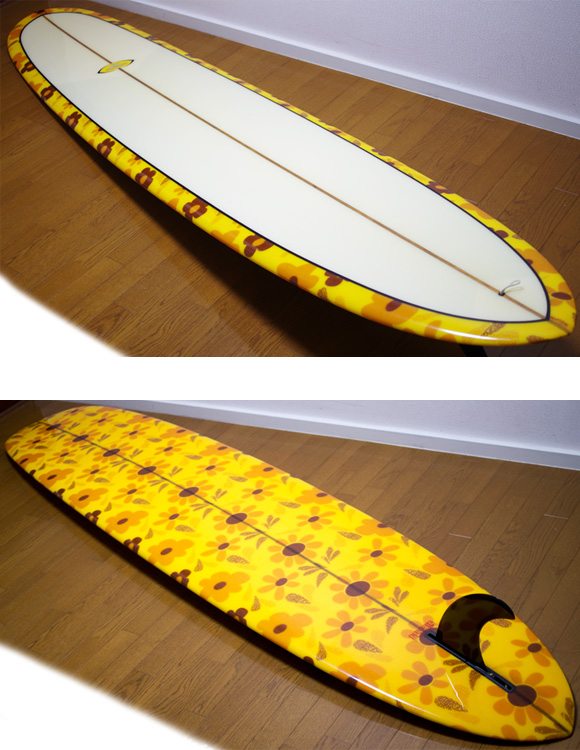 BING 中古ロングボード 9`4 deck/bottom-detail bno9629839b
