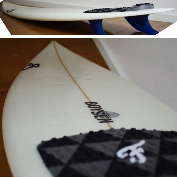 BOYSEN The JET 中古ショートボード 5`11 deck-condition bno9629842c