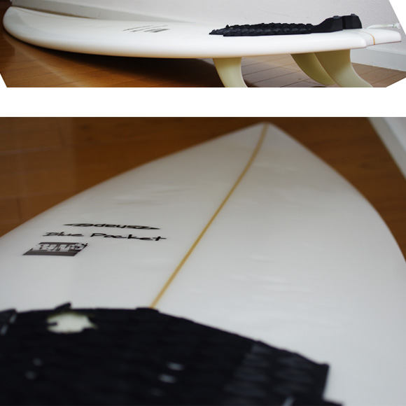 A-shape BluePocket 中古ショートボード 6`1 deck-condition bno9629850c