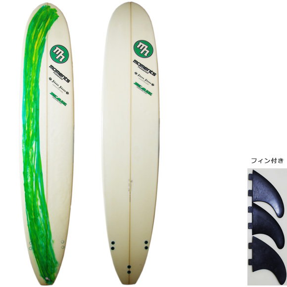 MOMENTS PRO MODEL deck/bottom 中古ロングボード 9`0 bno9629852a