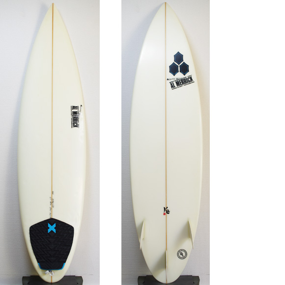AL MERRIC KID QUICK 中古ショートボード 6`1 deck/bottom bno9629854a
