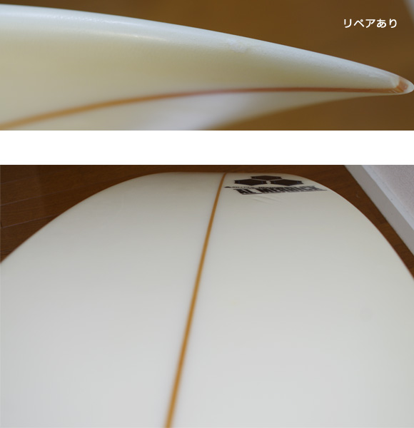 AL MERRIC KID QUICK 中古ショートボード 6`1 condition/repair bno9629854e