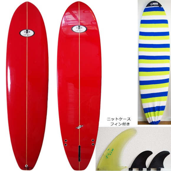 USB (UESUGI SURFBOARDS) 中古ファンボード7`3 deck/bottom bno9629857a