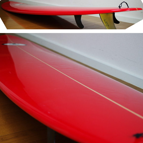 USB (UESUGI SURFBOARDS) 中古ファンボード7`3 deck-condition bno9629857c