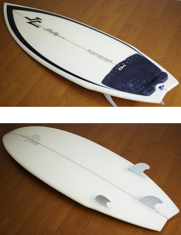 JC HAWAII Stingray 中古ショートボード 5`11 deck/bottom-detail bno9629859b