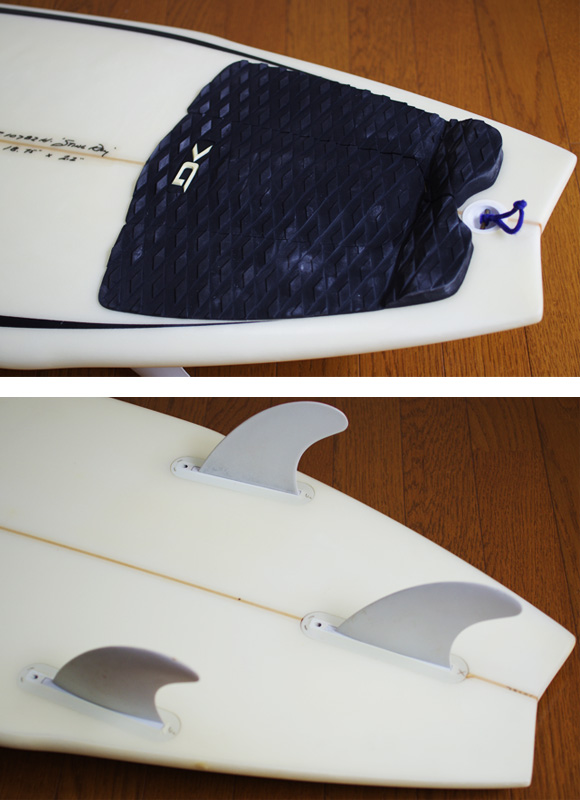 JC HAWAII Stingray 中古ショートボード 5`11 fin/tail bno9629859d