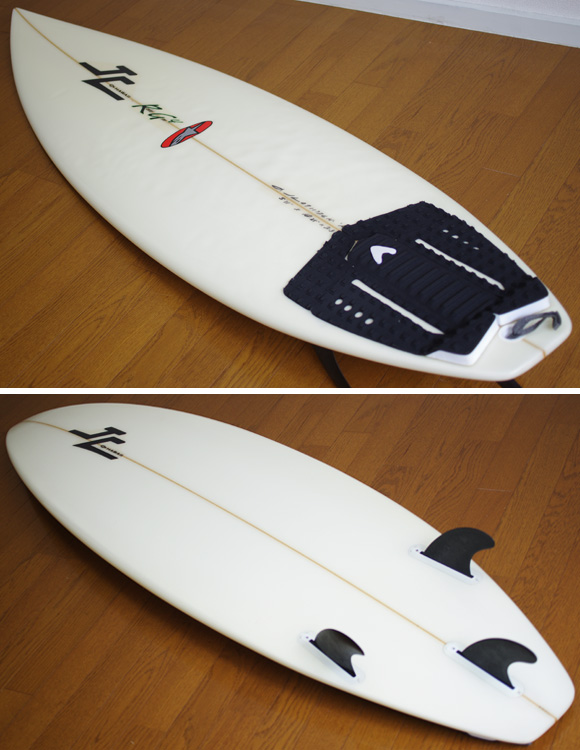 JC HAWAII RG4 中古ショートボード 5`11 deck/bottom-detail bno9629860b