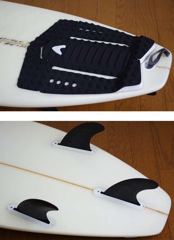 JC HAWAII RG4 中古ショートボード 5`11 fin/tail bno9629860d