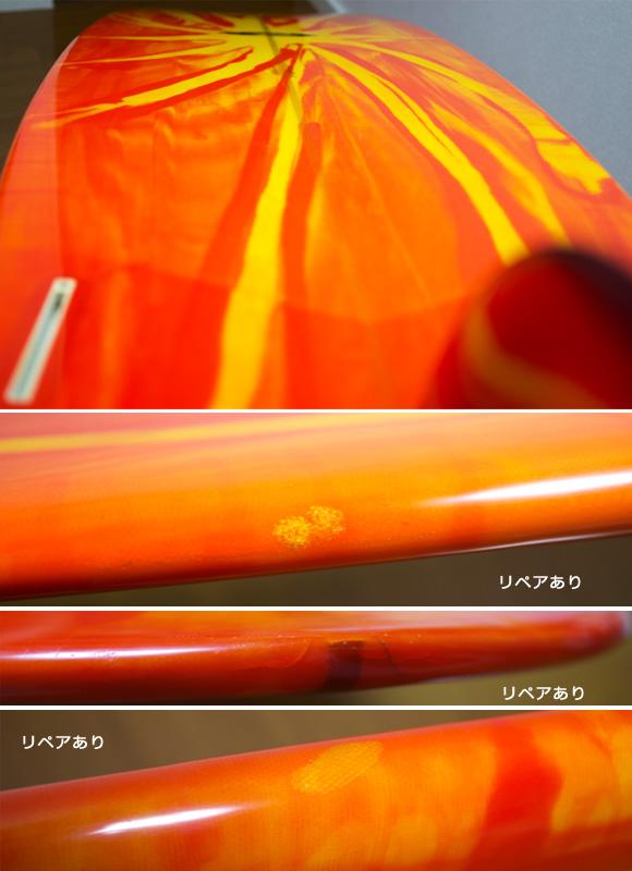 K-SHAPE 中古ロングボード 9`01 condition/repair bno9629864e