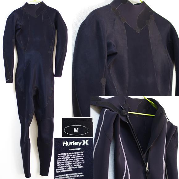 HURLEY 中古ウェットスーツ 3/2mm ICON フルスーツ condition bno9629872c