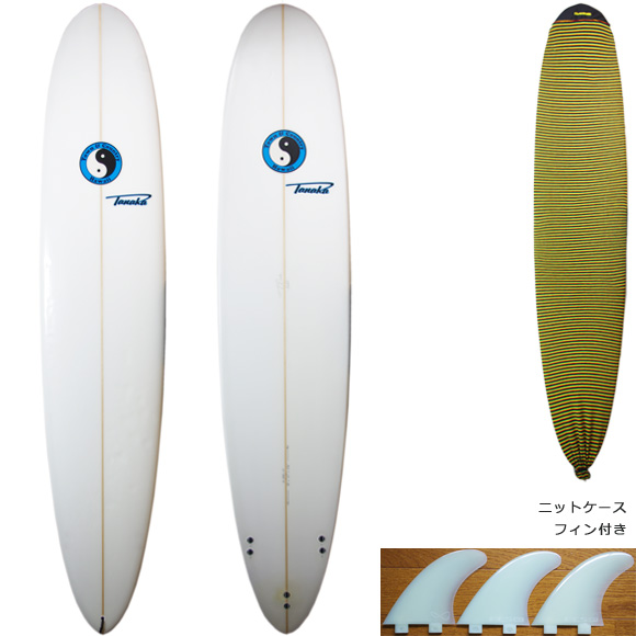 TOWN & COUNTRY PRO TOMMY TANAKA 中古ロングボード 9`0 deck/bottom bno9629873a