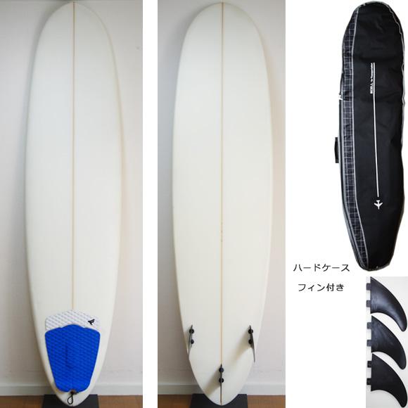 初心者におススメ 中古ファンボード7`4 deck/bottom bno9629881a