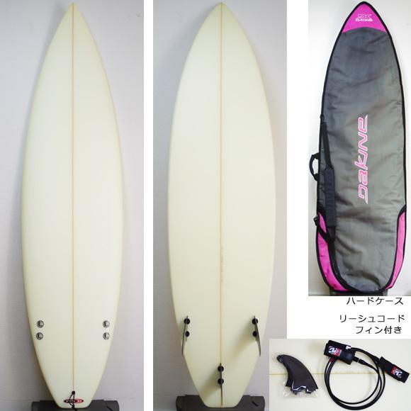 激安 中古ショートボード 6`3 deck/bottom bno9629884a