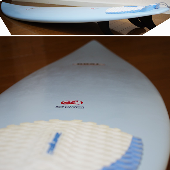 DUAL Surfboard EPS 中古ショートボード 6`6 deck-condition bno9629889c