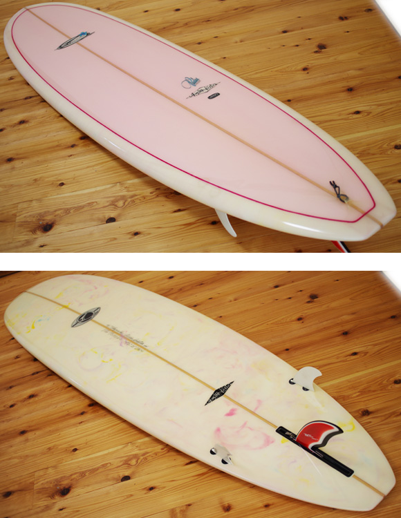 LEiLANi 中古ファンボード7`2 deck/bottom-detail bno96291000b