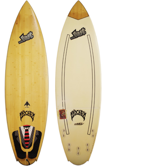 FIREWIRE LOST STEALTH中古ショートボード 6`0 deck/bottom bno96291002a