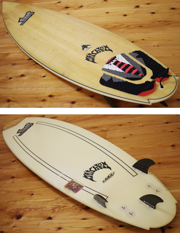 FIREWIRE LOST STEALTH中古ショートボード 6`0 deck/bottom-detail bno96291002b