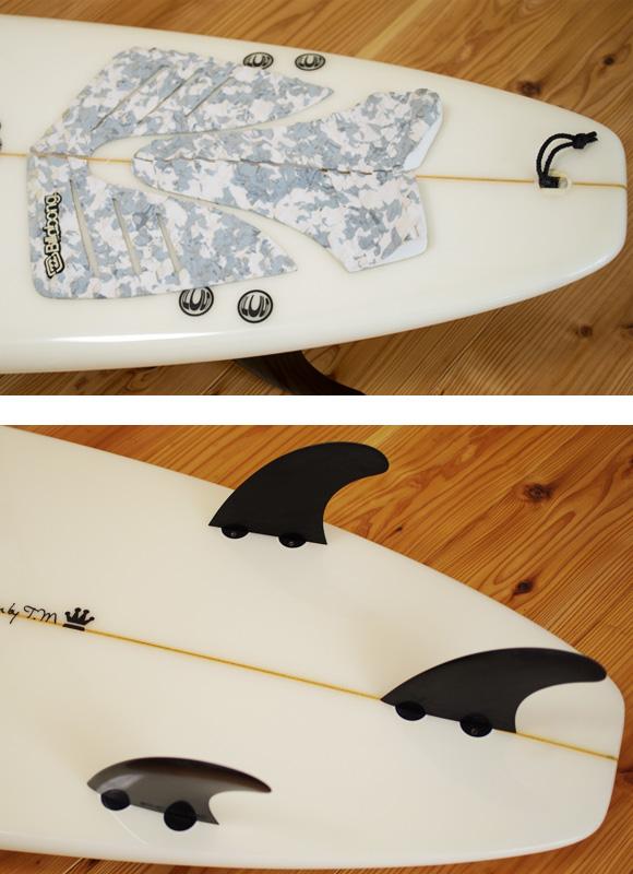 CARDIFF ファンボード6`7 fin/tail bno96291003d