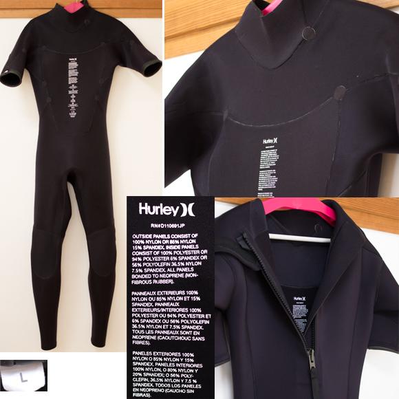 HURLEY ICON 302 中古ウェットスーツ 3/2mm シーガル condition bno96291005c