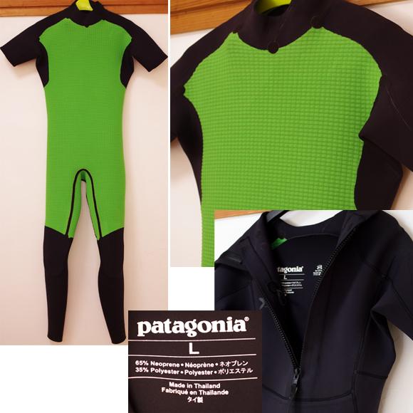 Patagonia 中古ウェットスーツ 3/2mm シーガル condition bno96291006c
