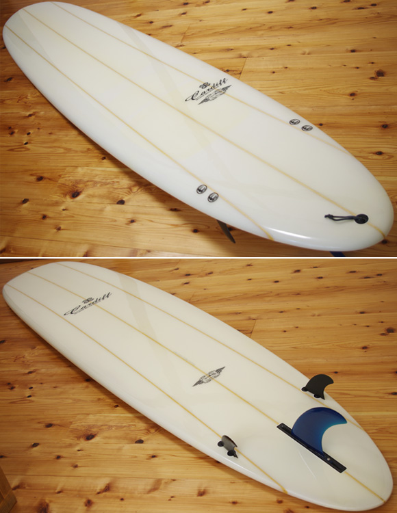CARDIFF 中古ロングボード 9`2 deck/bottom-detail  bno96291008b