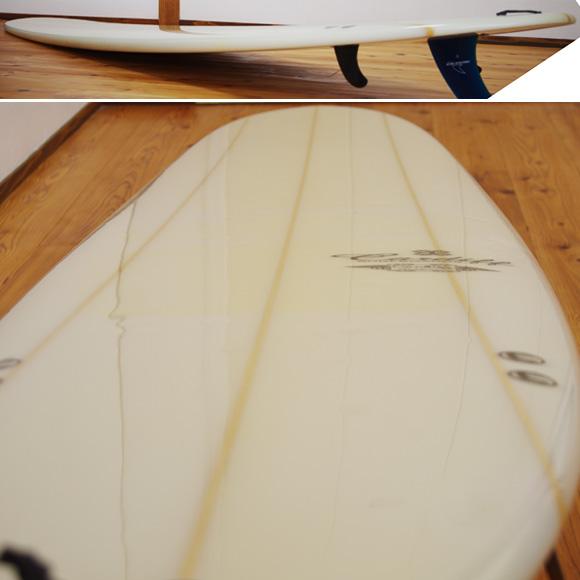 CARDIFF 中古ロングボード 9`2 deck-condition bno96291008c