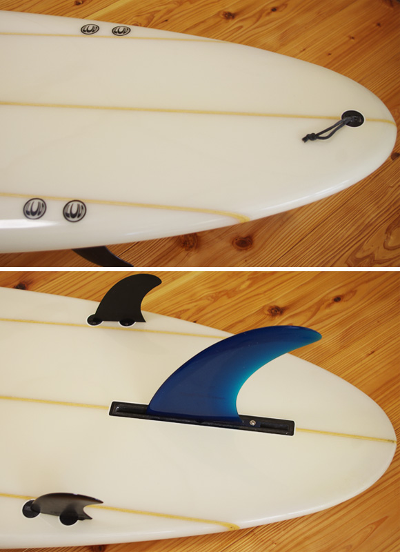 CARDIFF 中古ロングボード 9`2 fin/tail bno96291008d