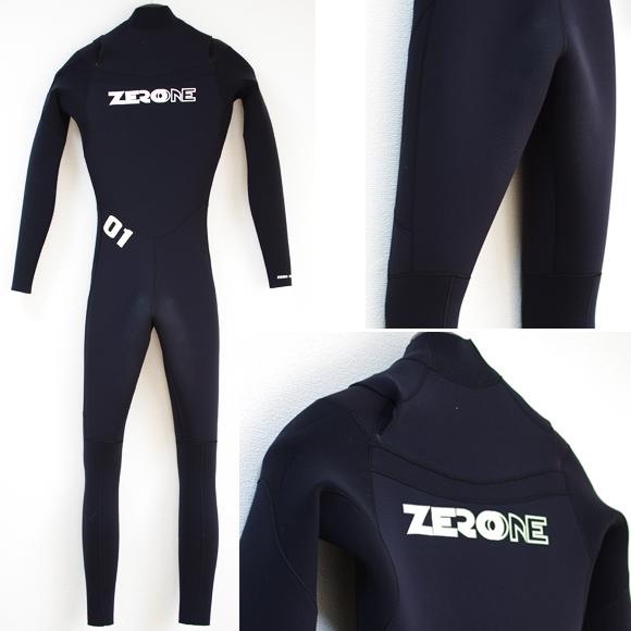 ZERO ONE 中古ウェットスーツ 5/3mm フルスーツ back bno9629903b