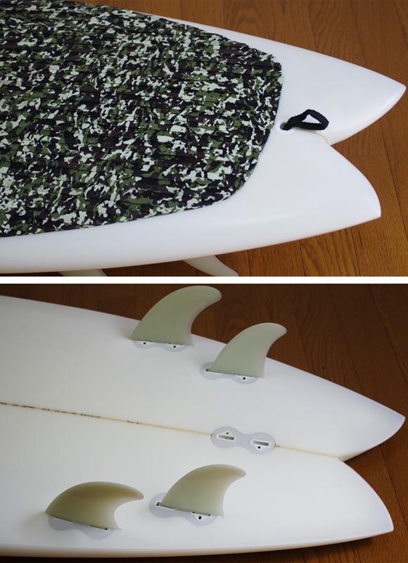MITSU 中古ニーボード  6`0 fin/tail bno9629915d