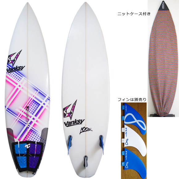 JUSTICE Loop 中古ショートボード 5`11 deck/bottom bno9629931a